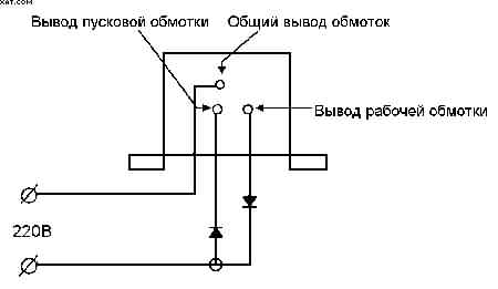 Все понятно из схемы подключения.  1. Если не известно какой вывод.